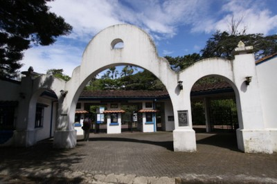 Entrance to the Zoological Park and Botanical Garden of San José